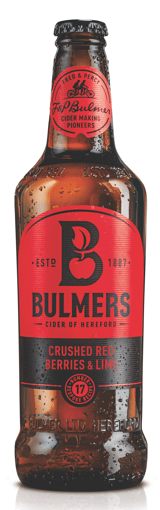 Bulmers Crushed Red Berries Bottled