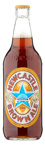 Newcastle Brown Bottle