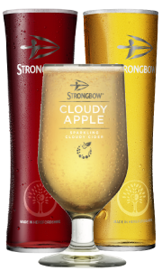 Strongbow glasses