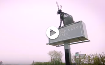 Watch the story of the EXTRAORDINARY HARE, WANTAGE